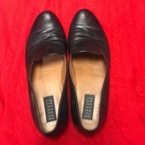 Barneys New York black tuxedo slipper shoe 11 M